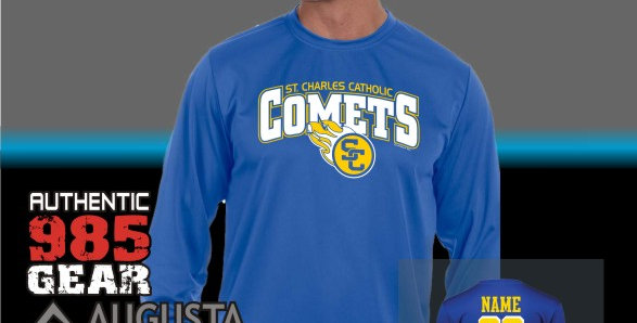 SCC Royal Dry-Fit Longsleeve T-Shirt