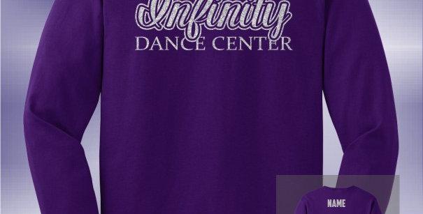 Infinity Dance Glitter Longsleeve T-Shirt