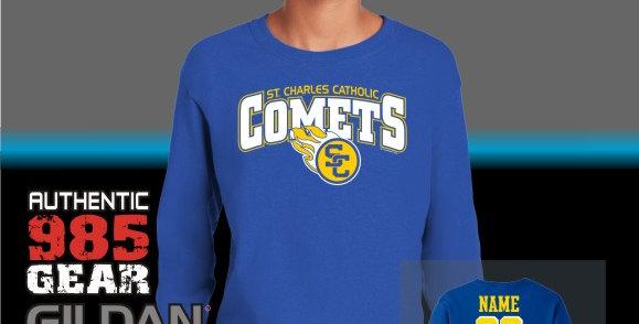 SCC Comets Royal Longsleeve T-Shirt