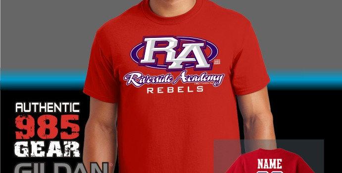 Riverside Strong Red T-Shirt