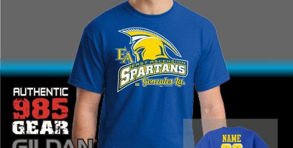 "EA ""Sparty"" Royal T-Shirt"