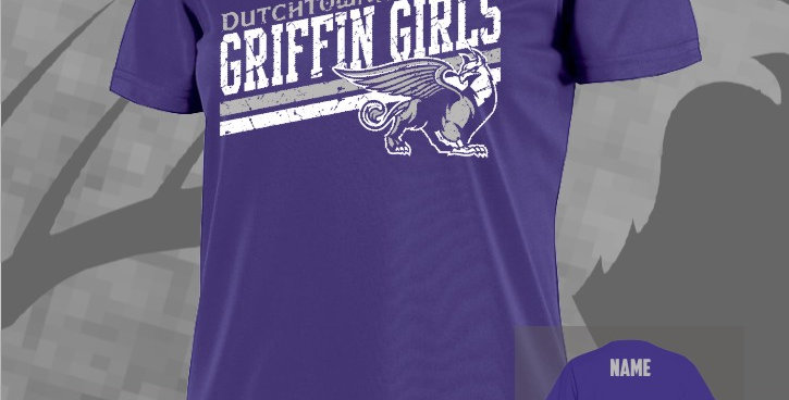 Griffin Girls Dry-Fit Ladies V-Neck