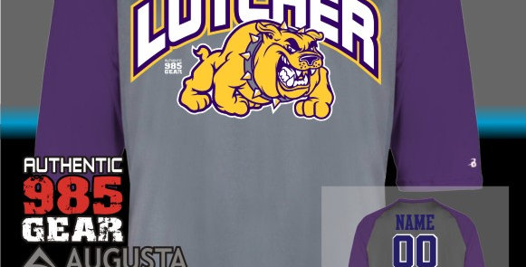 Lutcher 3/4 Length Dry Fit Jersey