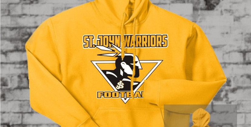 Warriors Gold Hooded Sweatshirt