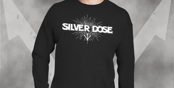 Silver Dose Crewneck Sweatshirt