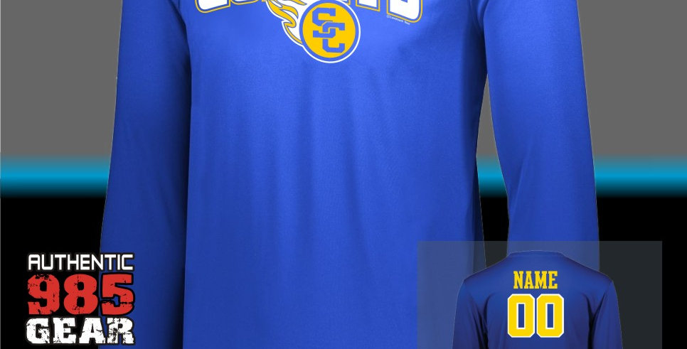 SCC Dry-Fit Longsleeve T-Shirt