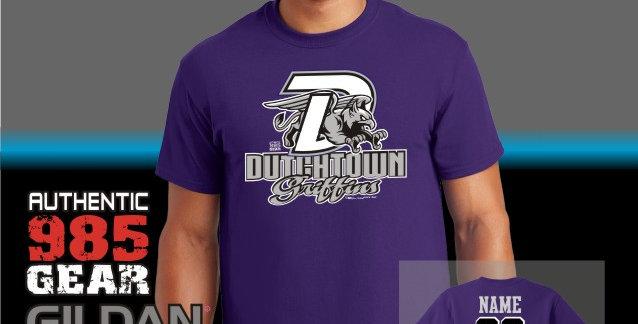 """Dutchtown """"Big-D"""" T-Shirt"""