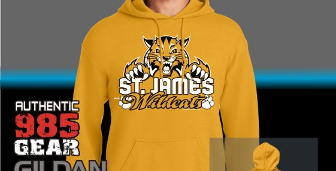 """St. James """"Cat Claws"""" Gold Hoodie"""