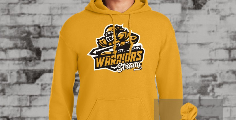 Warriors Strong Hooded Sweat (Gold Team)