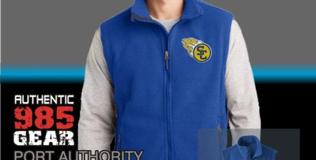 SCC Mens Royal Fleece Vest
