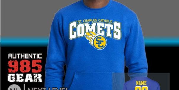 SCC Front Pocket Crewneck Sweat Shirt