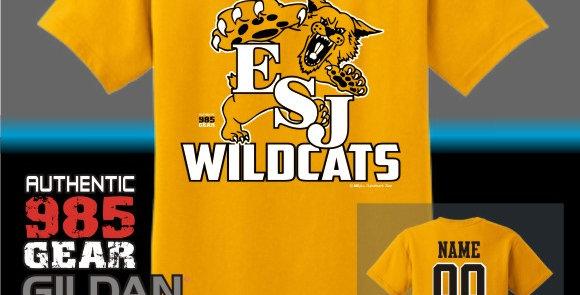 """ESJ """"Gold Grass"""" Gold T-Shirt"""