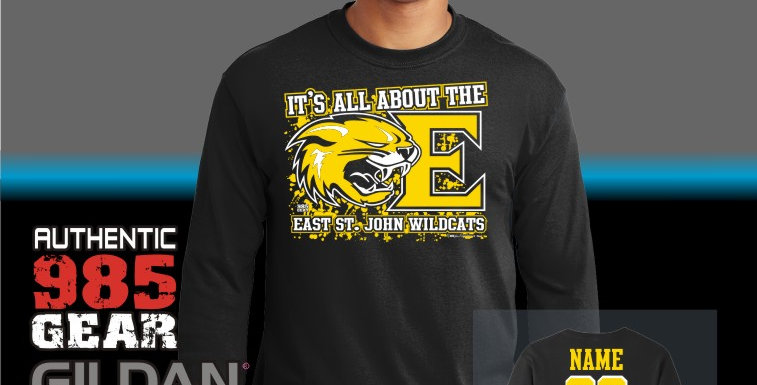 "ESJ ""It's All About The E"" Black Longsleeve T-Shirt"