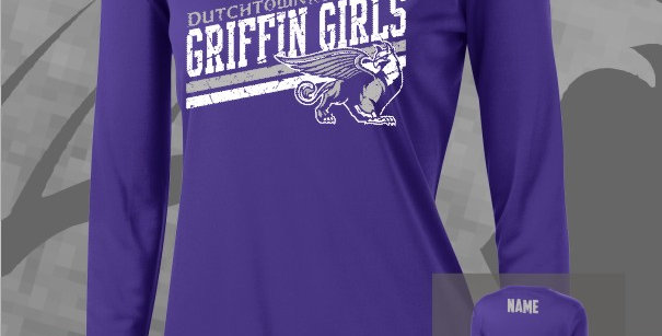 Griffin Girls Longsleeve Competitor V-Neck