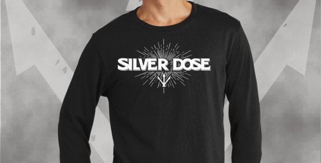 Silver Dose Cotton Longsleeve T-Shirt