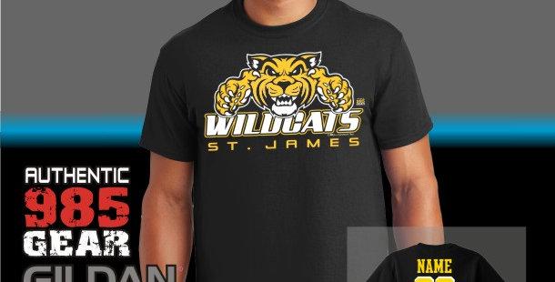 """St. James """"Big Cat Attack"""" T-Shirts"""