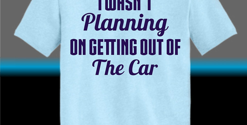 Getting Out Of The Car T-Shirt
