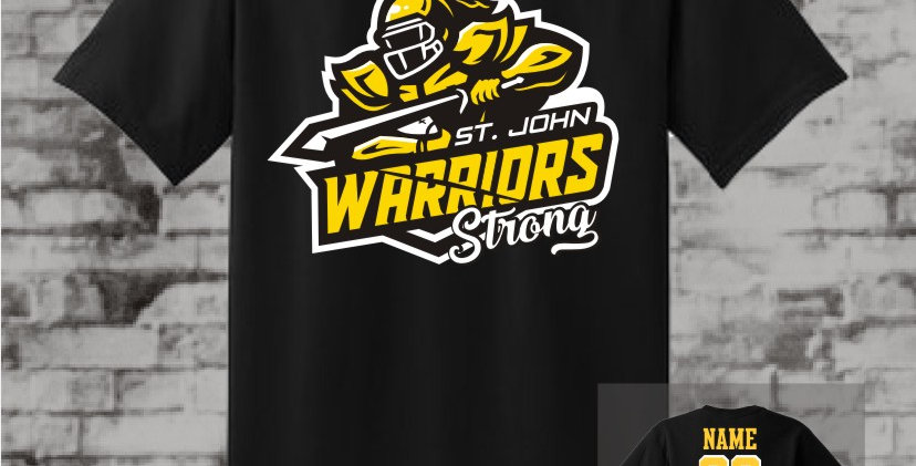 Warrior Strong Black T-Shirt