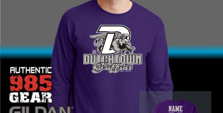 """Dutchtown """"Big D"""" Longsleeve T-Shirt"""