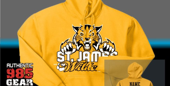 "St. James ""Cat Claws"" Gold Hoodie"