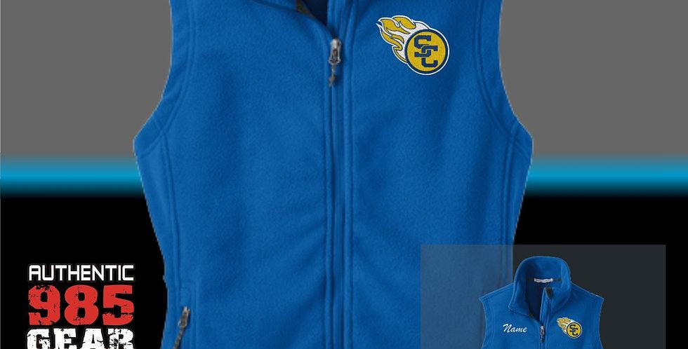 SCC Ladies Fleece Vest
