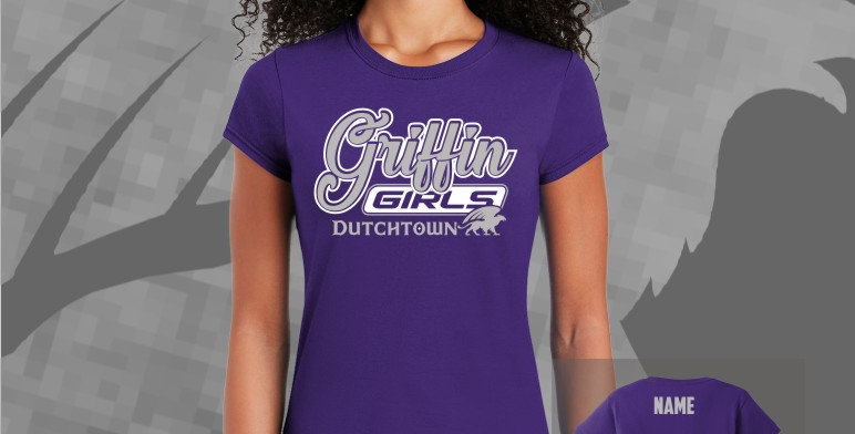 Griffin Girls Ladies Soft Style Tee