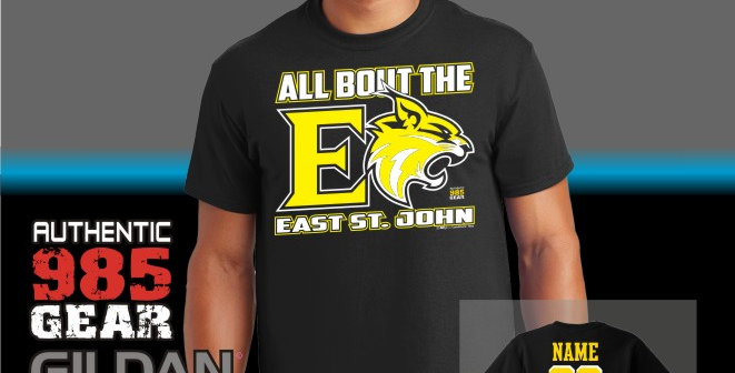 """ESJ """"All Bout The E"""" Black T-Shirt"""