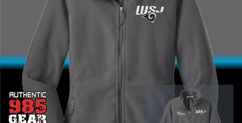 WSJ Ladies Grey Fleece Jacket