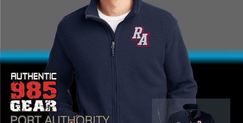 Riverside Mens Navy Fleece Jacket