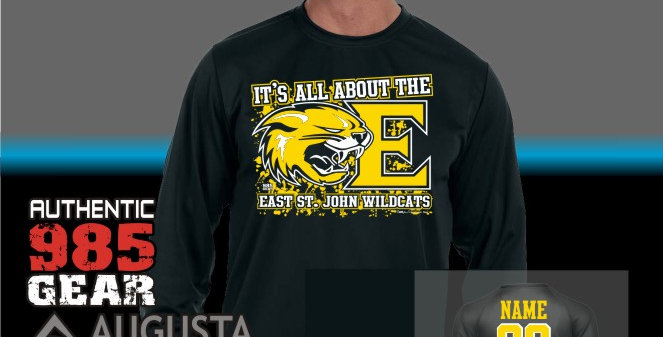 "ESJ ""It's All About The E"" Dry-Fit Longsleeve T-Shirt"