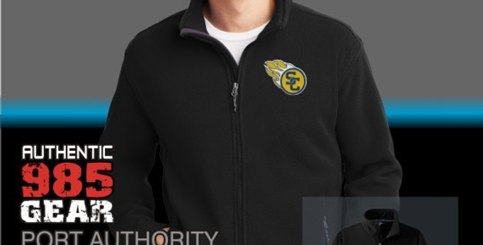 SCC Mens Black Fleece Jackets