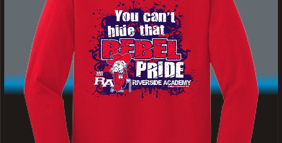 """Rebel Pride"" Long Sleeve T-Shirt"