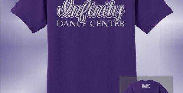 Infinity Dance Glitter Unisex T-Shirt