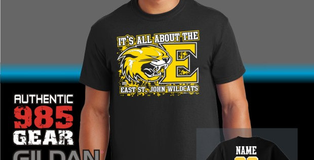 "ESJ ""It's All About The E"" Black T-Shirt"