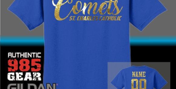 SCC Comets Foil T-Shirt