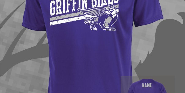 Griffin Girl Dry-Fit T-Shirt