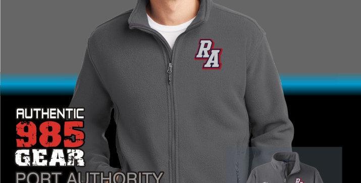 Riverside Mens Iron Grey Fleece Jacket