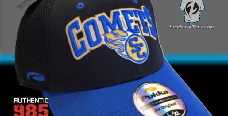 SCC Black Flex-Fit Cap