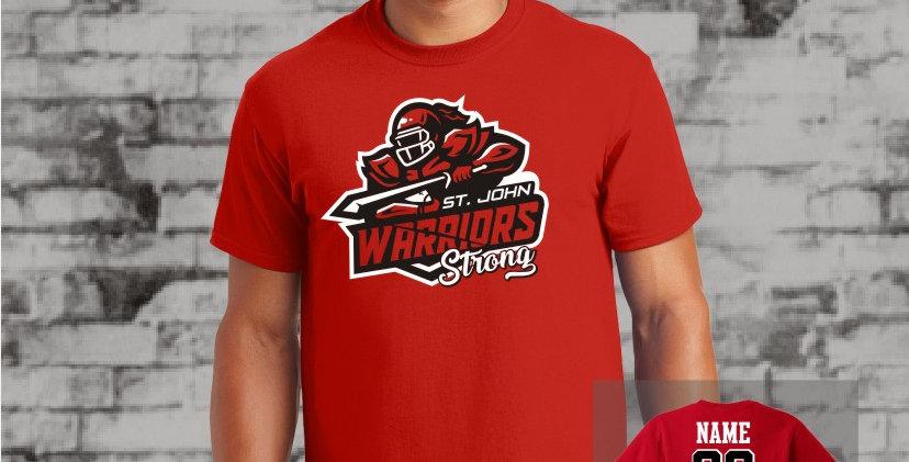 Warriors Strong T-Shirt (Red Team)