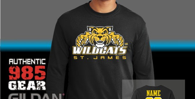 "St. James ""Big Cat Attack"" Longsleeve T-Shirt"