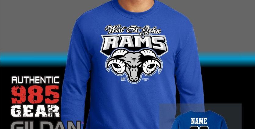 "WSJ ""Ram Tough"" Longsleeve T-Shirt"