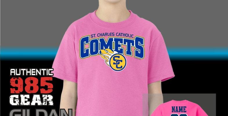 SCC Comets Pink T-Shirts