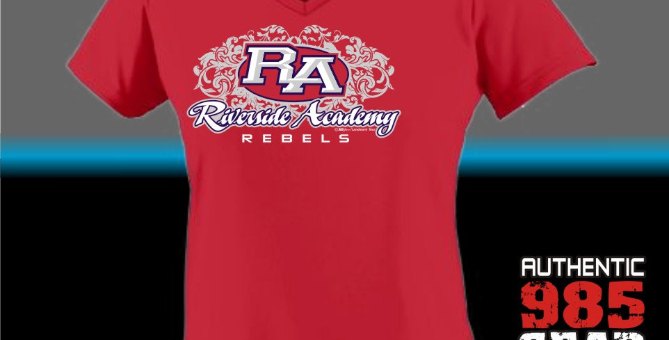 RA Ladies Dry-Fit V-Neck