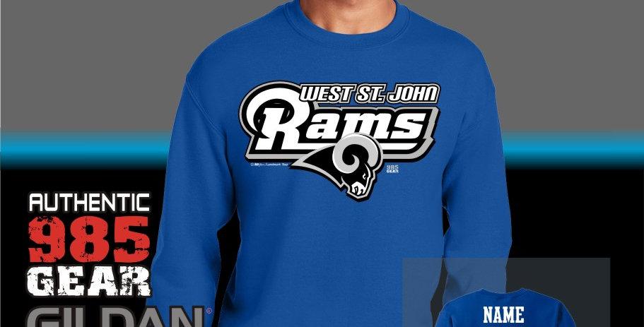 "WSJ ""STL"" Royal Crewneck Sweatshirt"