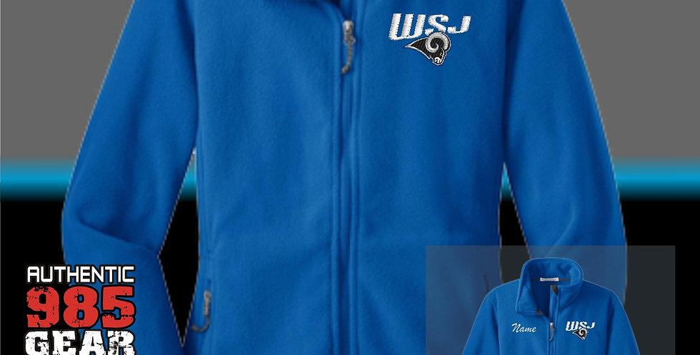 WSJ Ladies Royal Fleece Jacket