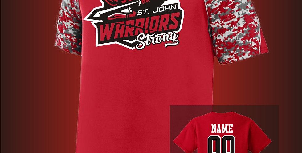 Warriors Strong DiGi Sleeve Jersey