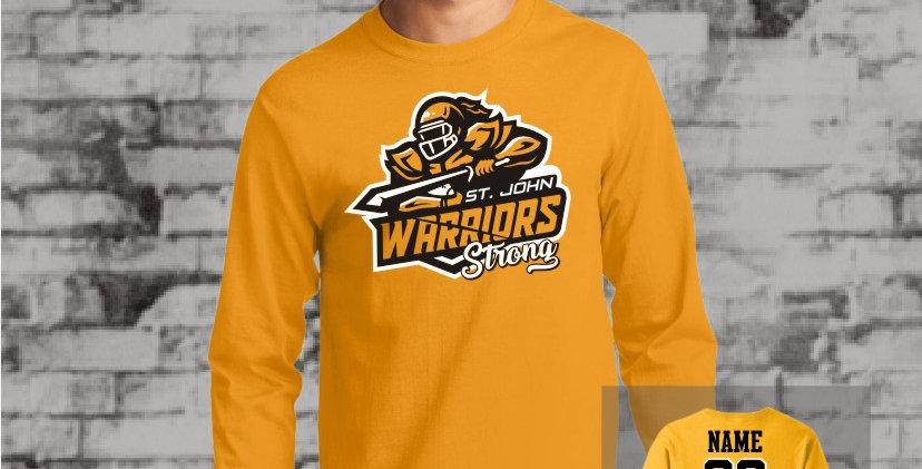Warriors Strong Longsleeve T-Shirt (Gold Team)