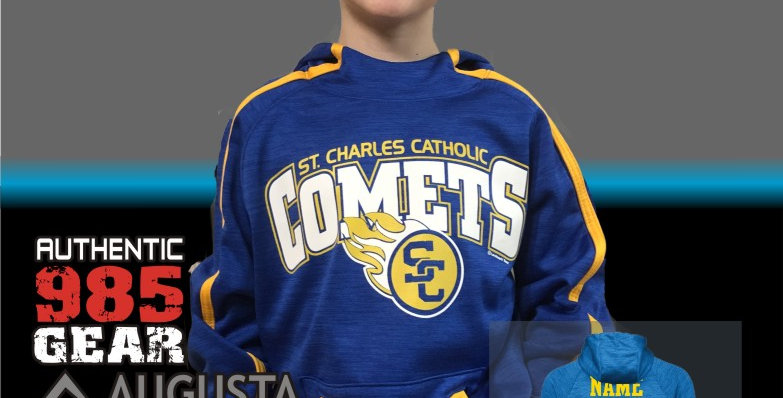 SCC Comets Stoked Tonal Hoody