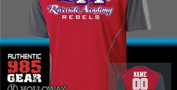 Riverside Red Piston Jersey