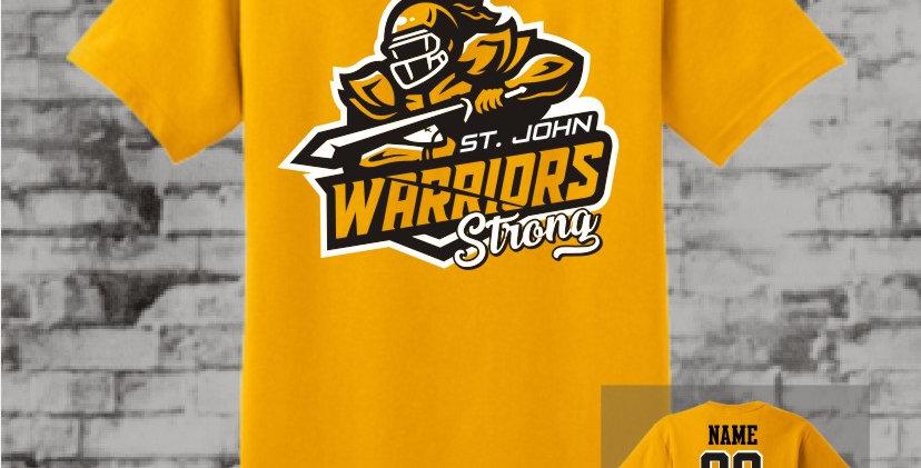 Warriors Strong Gold T-Shirt